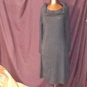 ** Gap Maternity Side Shirred L/S Cowl Neck Dress